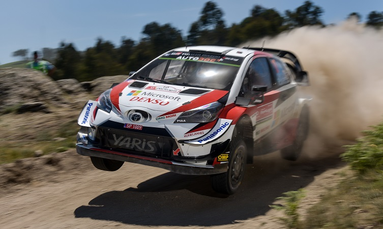 Toyota Yaris WRC flies to victory in Rally Portugal
