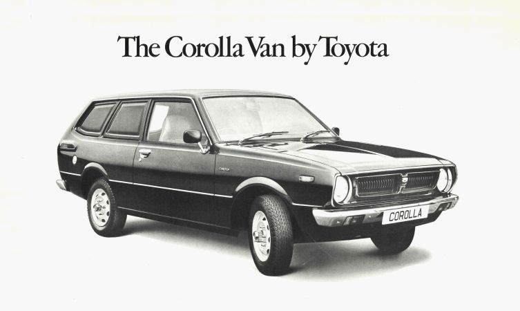 Corolla van