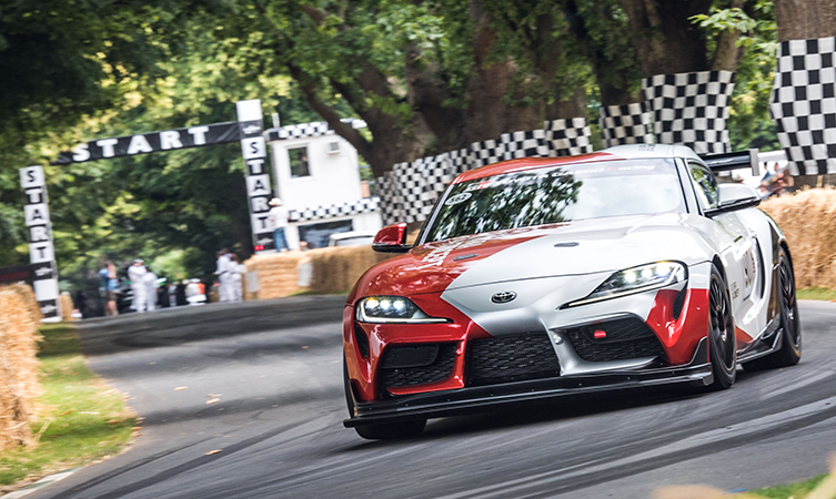 Mike Conway in GR Supra GT4