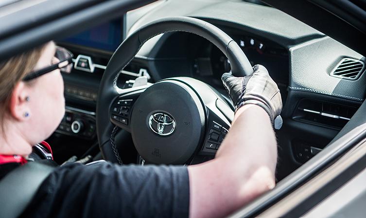 Supra Test Drive