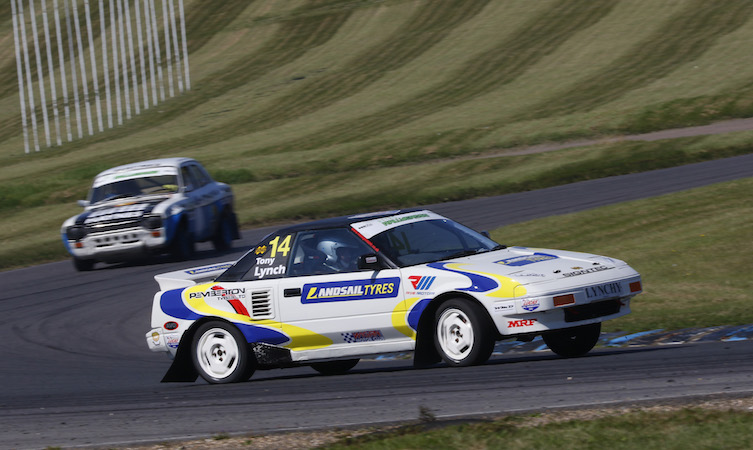 Tony Lynch Toyota MR2 rallycross