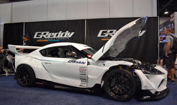 GReddy GR Supra drift concept