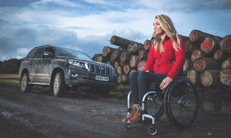 Sophie Morgan Off-Road Land Cruiser