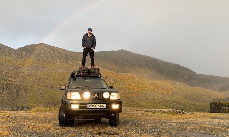 Land Cruiser road trip