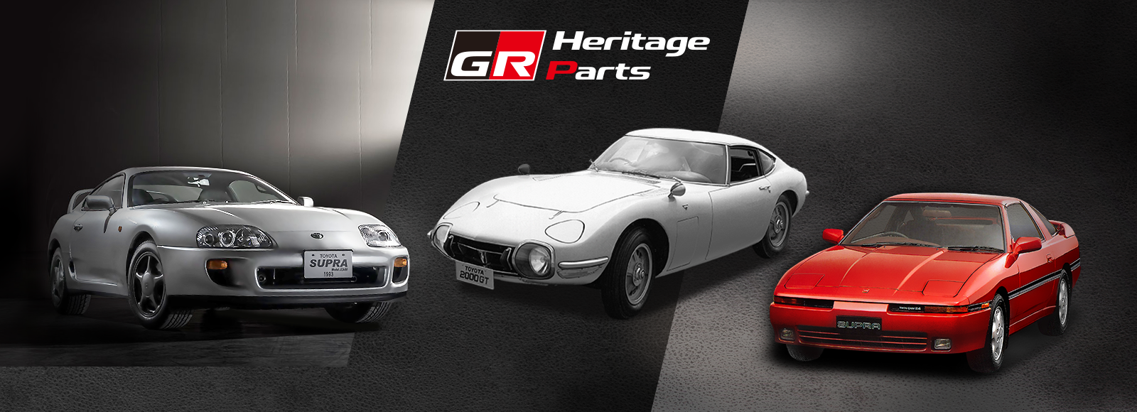 Toyota GR Heritage Parts banner image