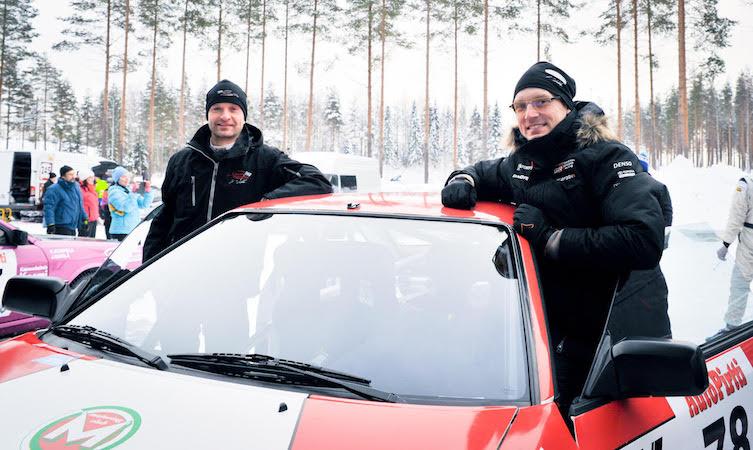 Jari-Matti Latvala Juho Hanninen