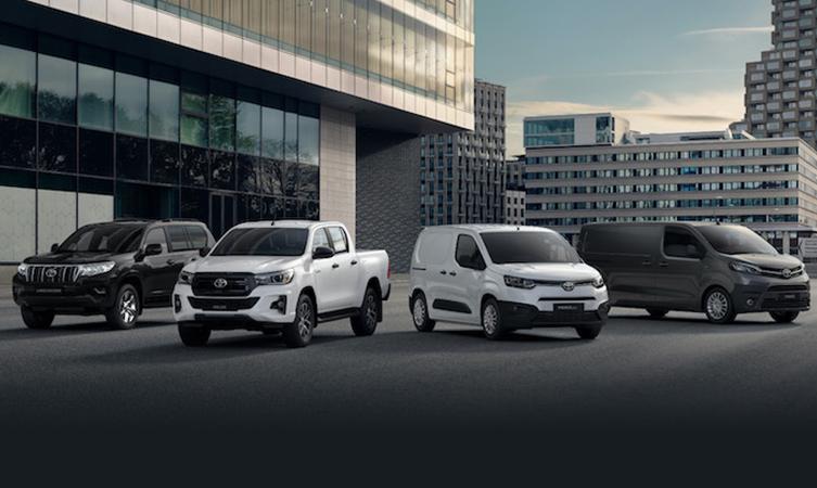 Toyota LCV range