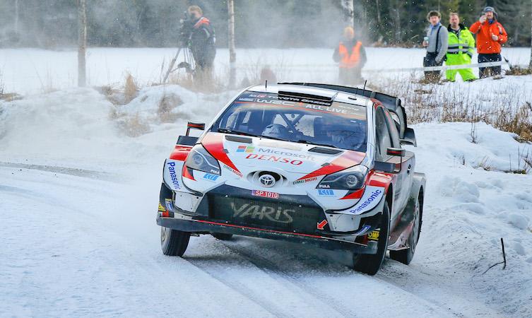 Elfyn Evans 2020 Rally Sweden