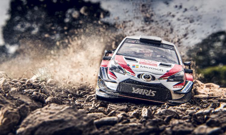 Yaris WRC model shoot