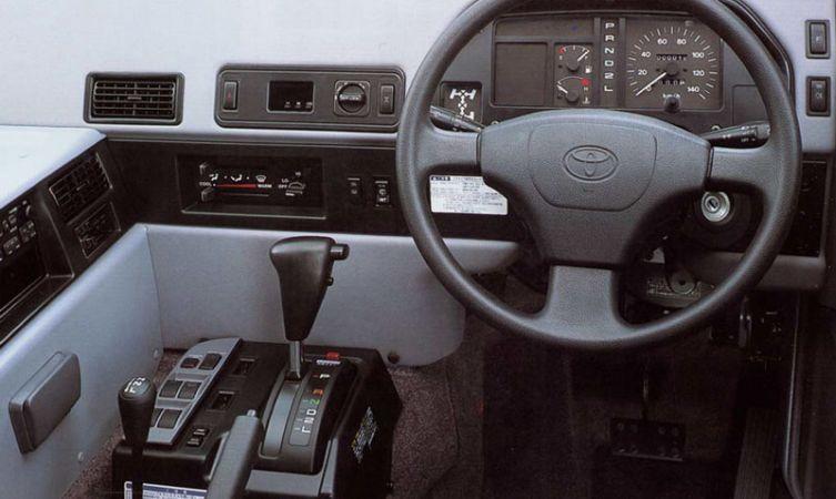Toyota Mega Cruiser interior