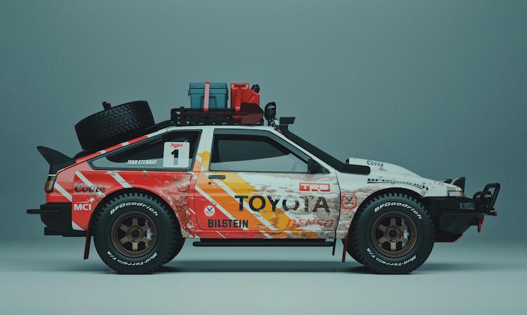 Toyoddities - Toyota AE86 'Pandemic'