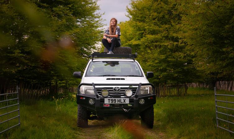 Toyota People - Tiana Walton Hilux