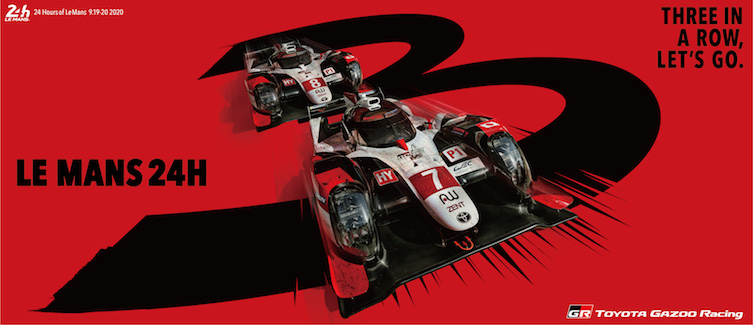 Le Mans 24 Hours banner