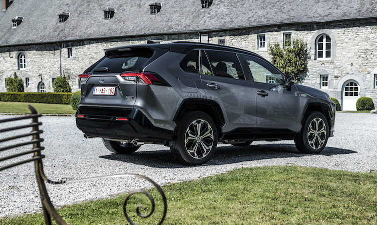 Toyota RAV4 PHEV (Europe spec)