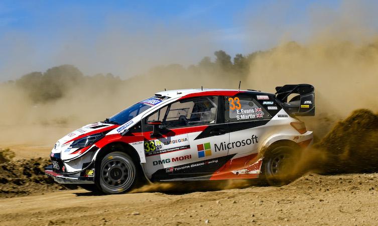 2020 FIA World Rally Championship / Round 06 / Rally d'Italia Sardegna / October 8-11, 2020 // Worldwide Copyright: Toyota Gazoo Racing WRC