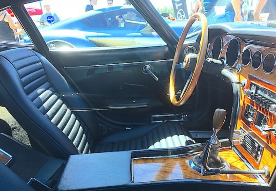 1960s 2000GT interior