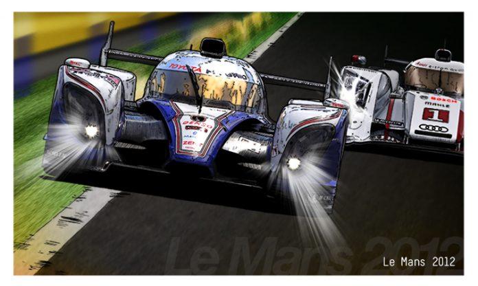 Toyota art - Mr Jalco WEC