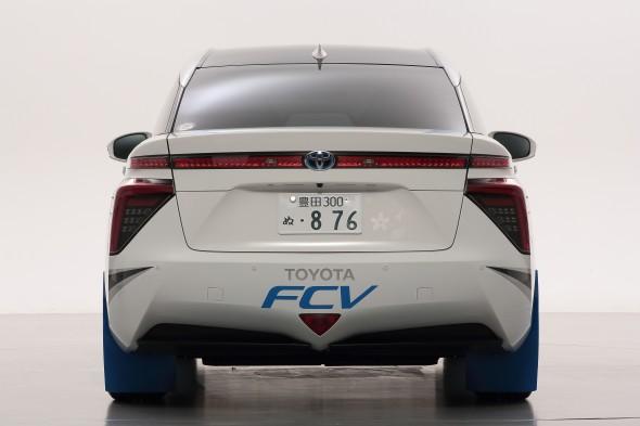 Fuel Cell Vehicle Rally Car Mirai rear 2