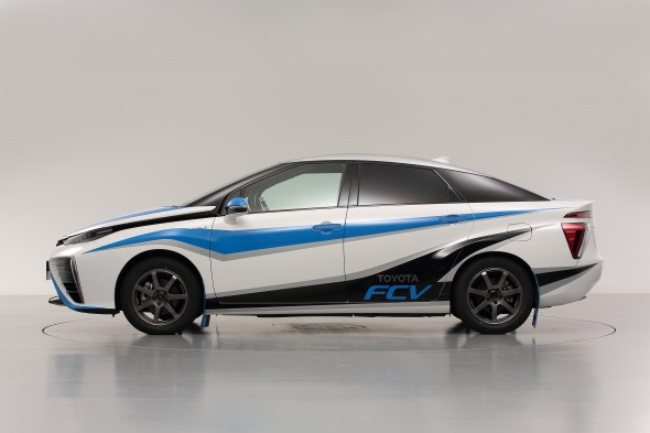 Fuel Cell Vehicle Rally Car Mirai side