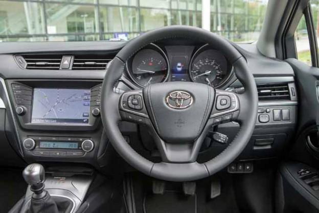 2015 Toyota Avensis dashboard