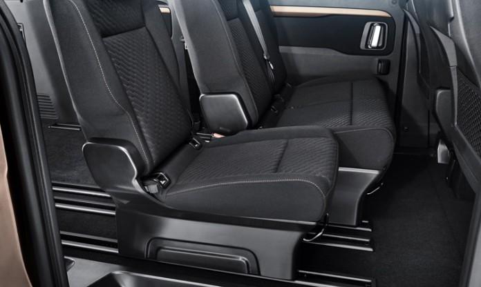 Toyota Proace Verso seats