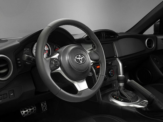 2017 Toyota GT86 interior