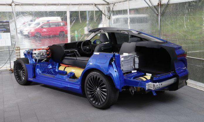 2021 Mirai hydrogen fuel cell