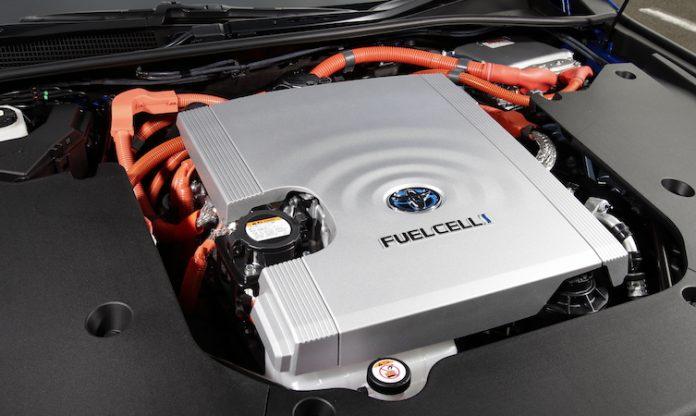 2021 Mirai fuel cell