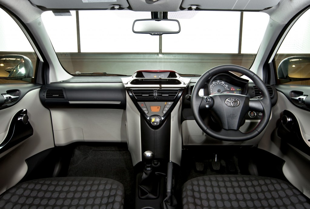 2011 Toyota iQ interior