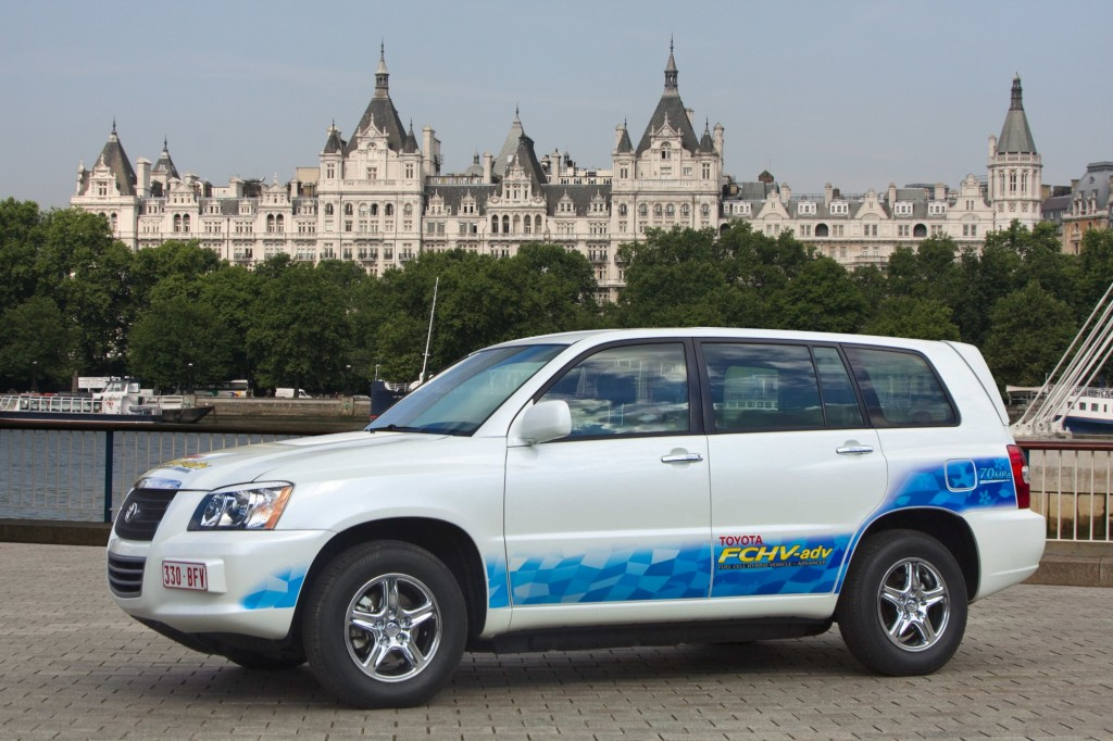 Toyota FCHV-adv / RAC Future Car Challenge
