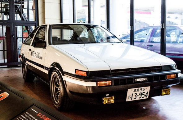 Initial D Toyota Corolla GT Coupe AE86