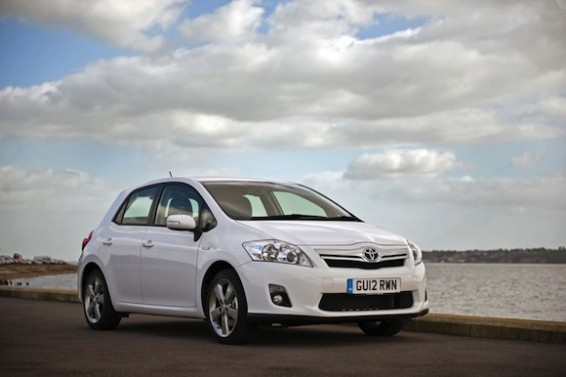 Toyota Auris Hybrid named most reliable medium car in Which? Car Survey 2012