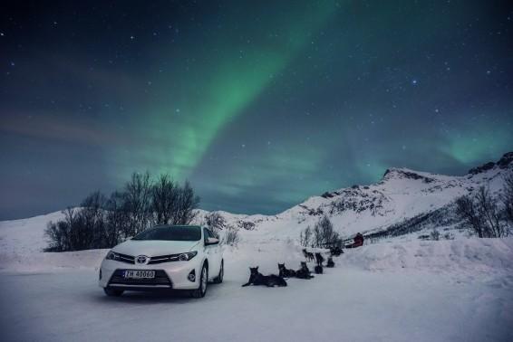 Auris TS Northern lights
