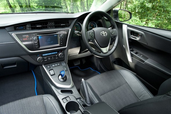 Auris Touring Sports interior further away