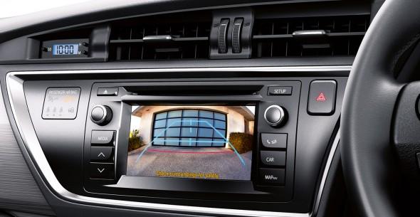 Toyota Auris parking camera