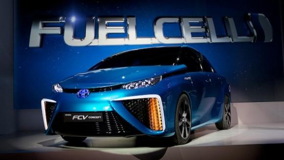 Toyota FCV at CES 2014