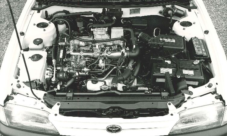 Corolla 7 2.0 XLD engine