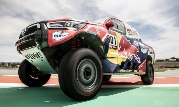 Dakar Rally presentation
