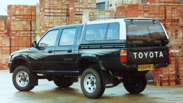 1996 Hilux 4wd Double Cab