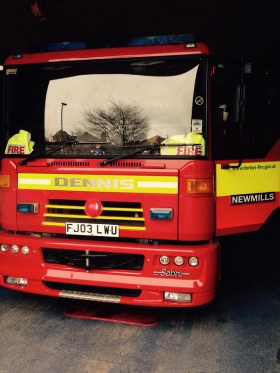 Derby fire