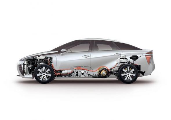 Fuel Cell cutaway