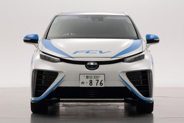 Fuel Cell Vehicle Rally Car Mirai
