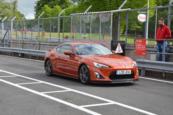 GT86 Leigh track