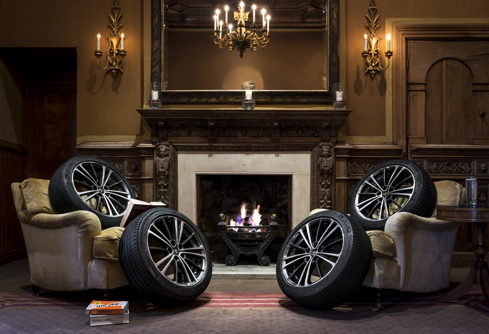 Toyota wheels and tyres