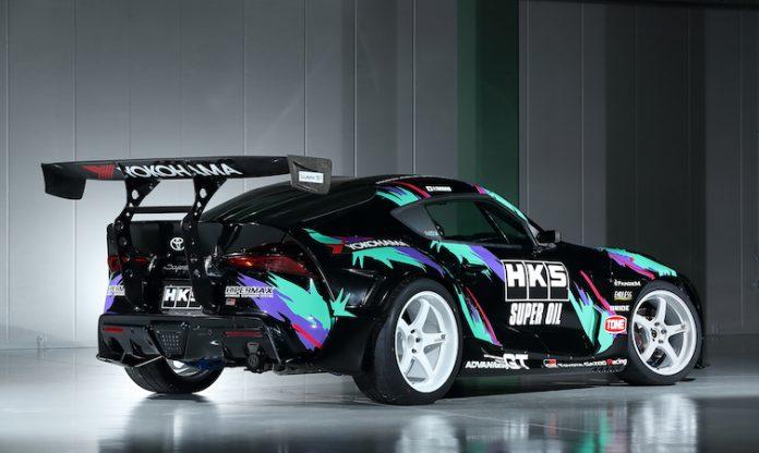 Toyota GR Supra by HKS