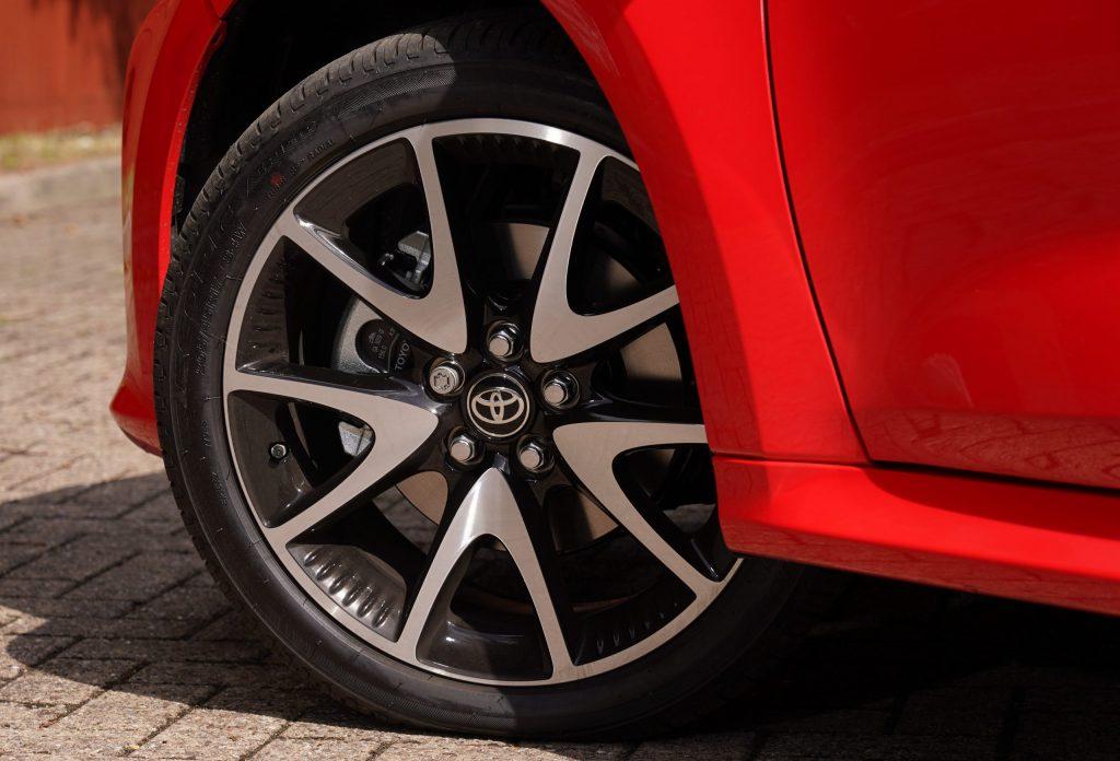 Toyota Tyre Pressure - 2020 Toyota Yaris wheel
