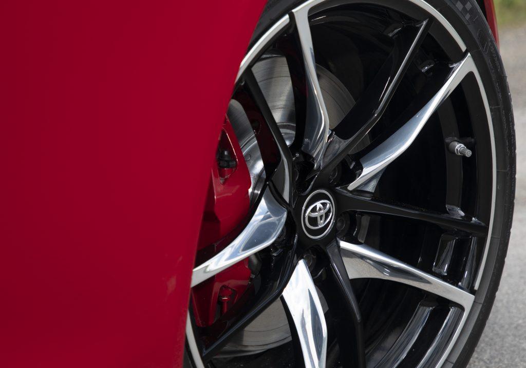 Toyota Tyre Pressure - 2019 Toyota GR Supra wheel