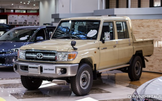 Land Cruiser 70-Series pick-up