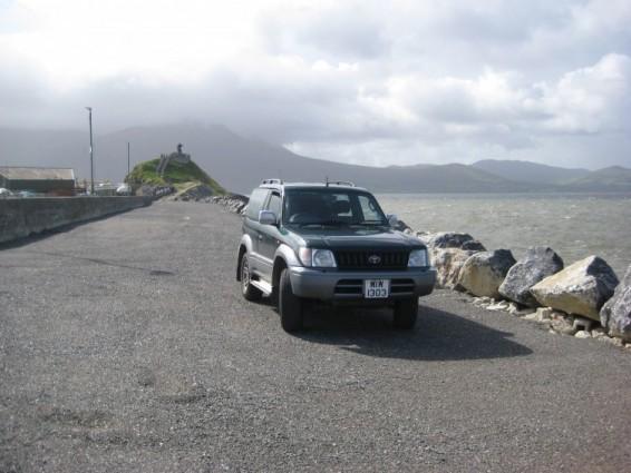 Liam Young Toyota Land Cruiser odyssey