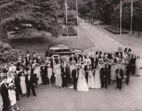 Land Cruiser wedding